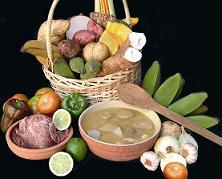 La mesa cubana