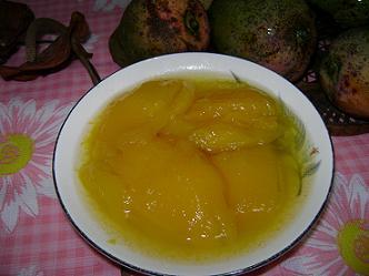 Cascos de mango