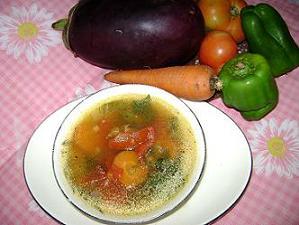Caldo de vegetales