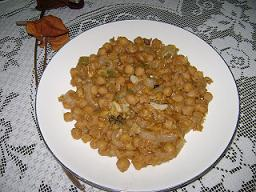 Garbanzos secos