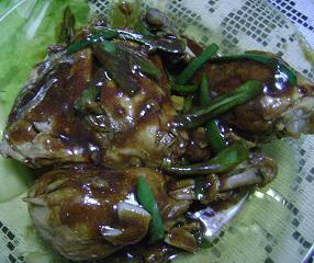 Pollo en crema de tamarindo